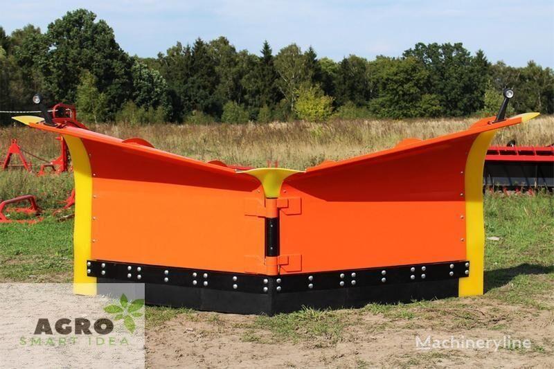 neues ATMP V-Schneepflug 2,8m / Schneeschild / Snow plow / Snow plough / Pł Schneeschild